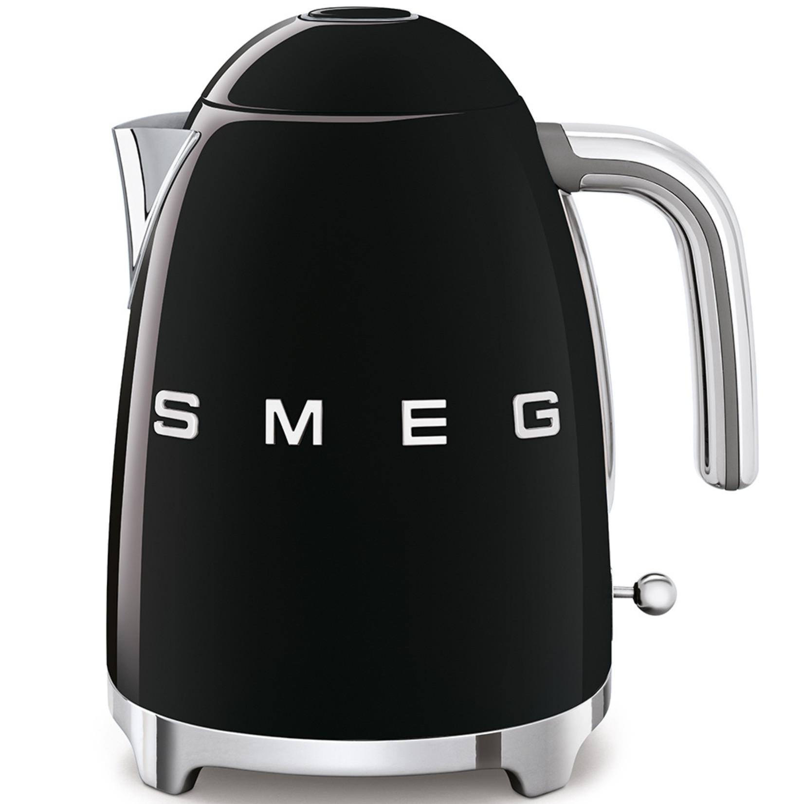 Smeg Smeg Waterkoker KLF03BLEU, 1,7 liter zwart