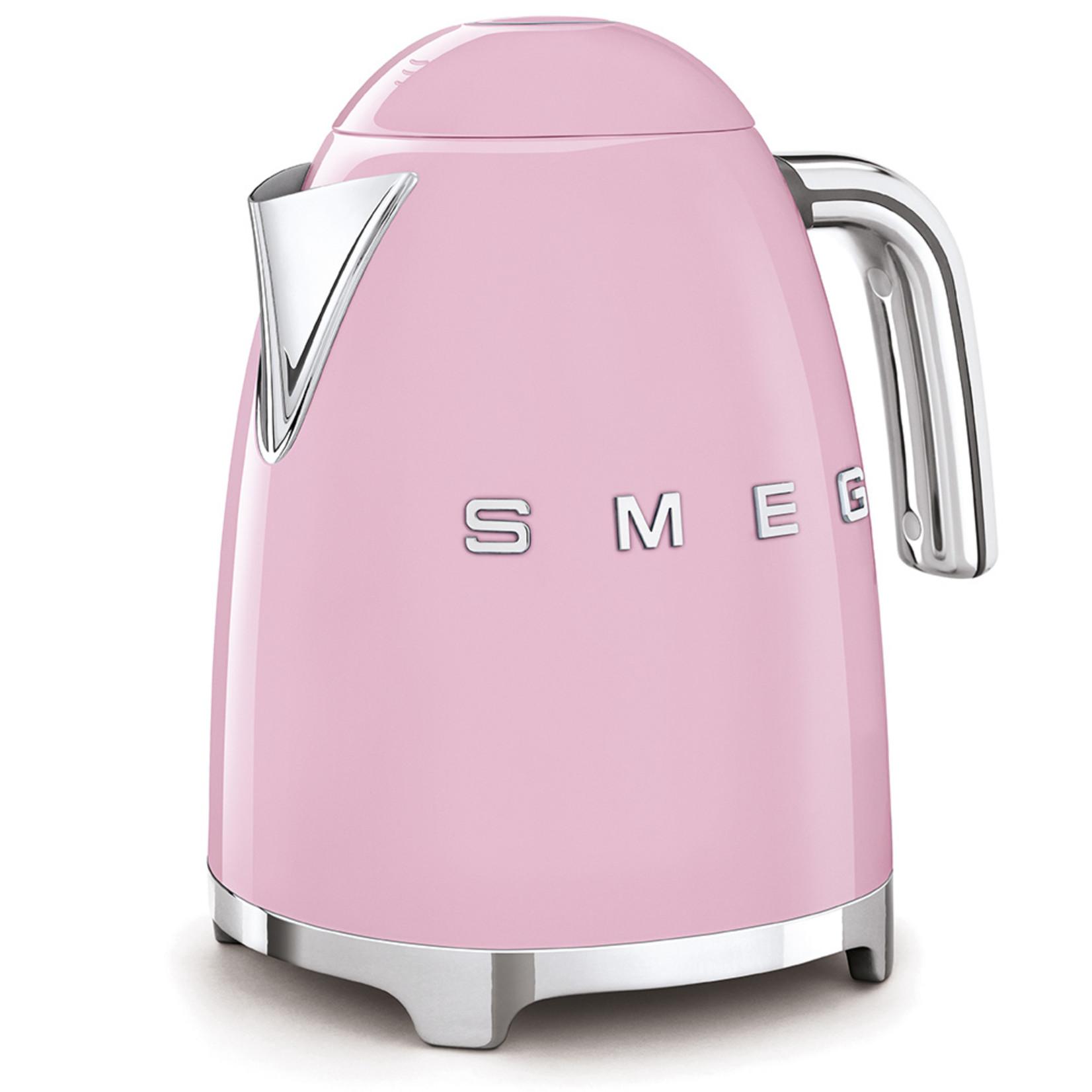Smeg Smeg Waterkoker KLF03PKEU, 1,7 liter roze