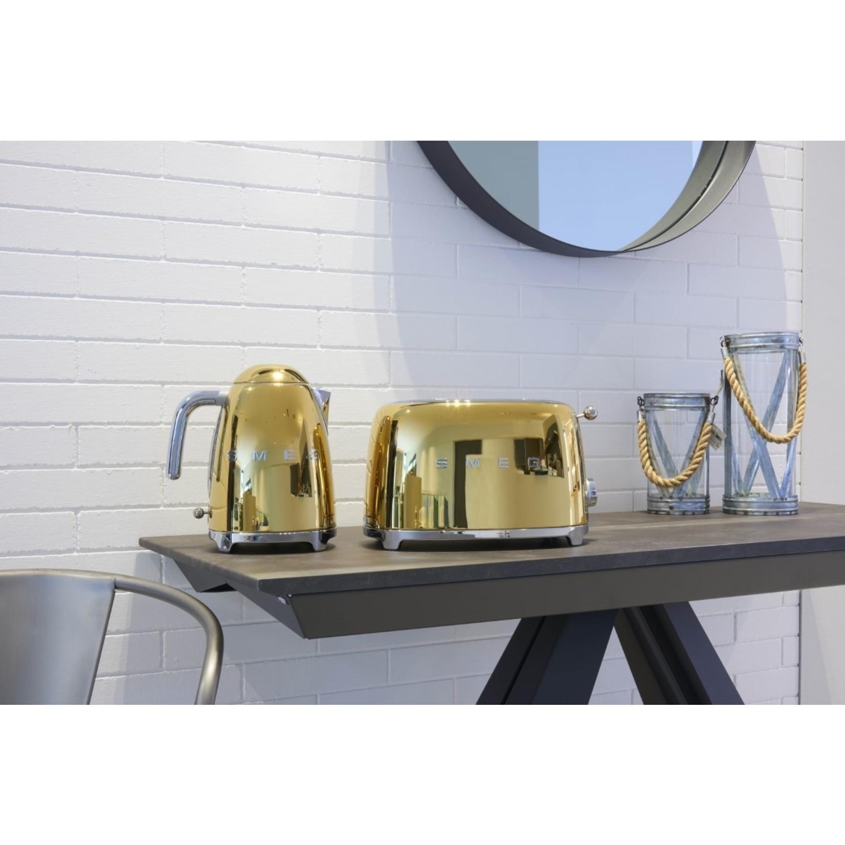 Smeg Smeg Waterkoker KLF03GOEU, 1,7 liter goud