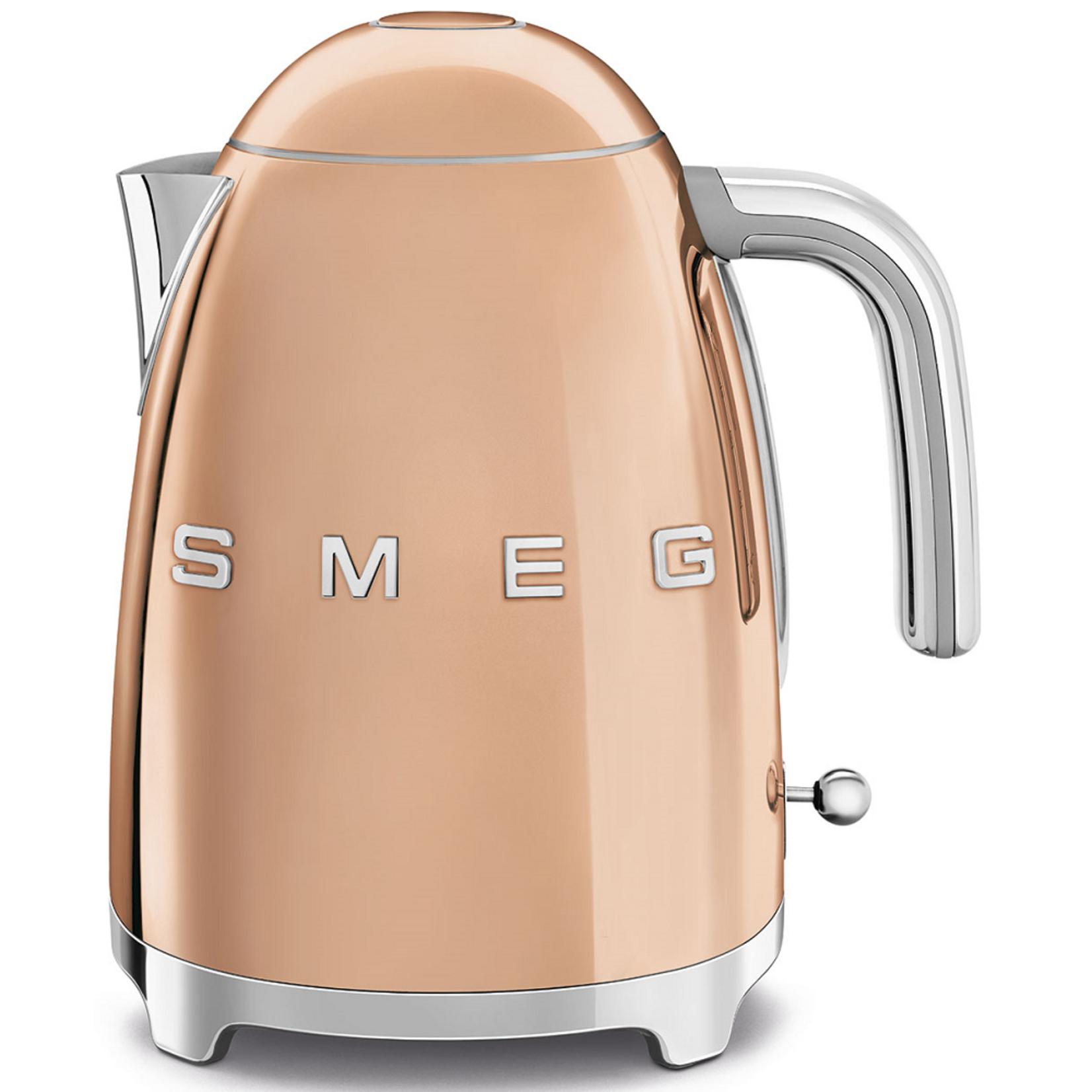 Smeg Smeg Waterkoker KLF03RGEU, 1,7 liter goud roze