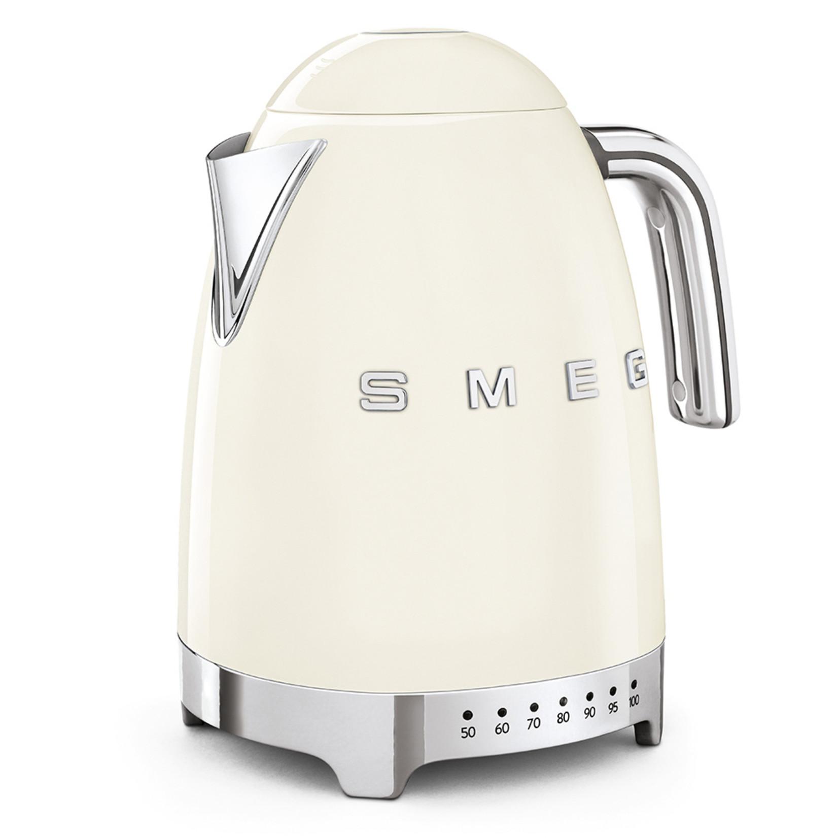 Smeg Smeg Waterkoker KLF04CREU, 1,7 liter variabel creme
