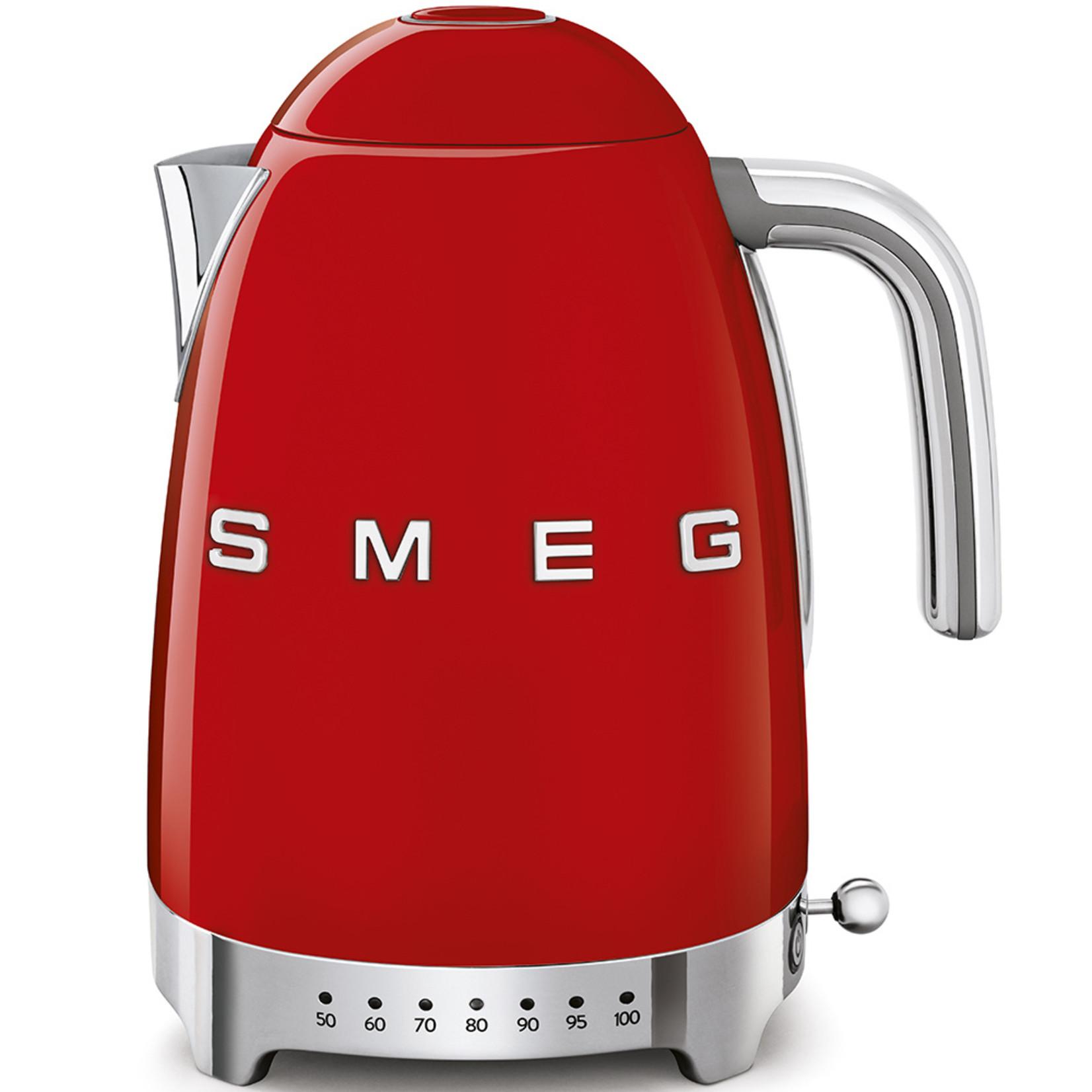 Smeg Smeg Waterkoker KLF04RDEU, 1,7 liter variabel rood
