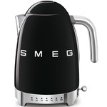 Smeg Waterkoker, 1,7 liter, variabel, zwart