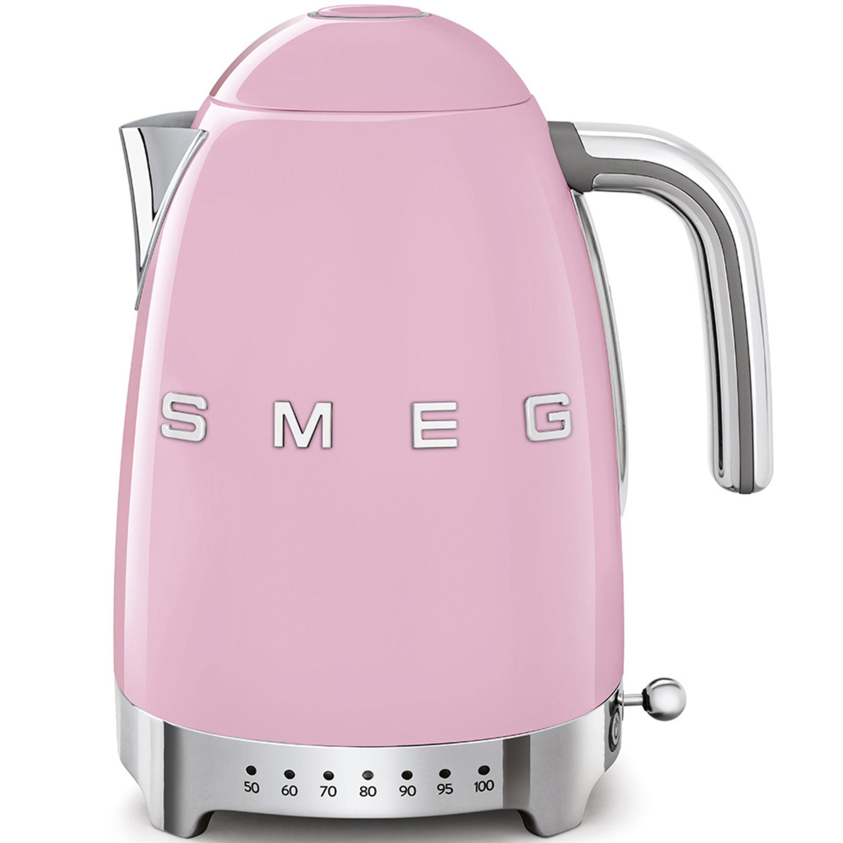Smeg Smeg Waterkoker KLF04PKEU, 1,7 liter variabel roze