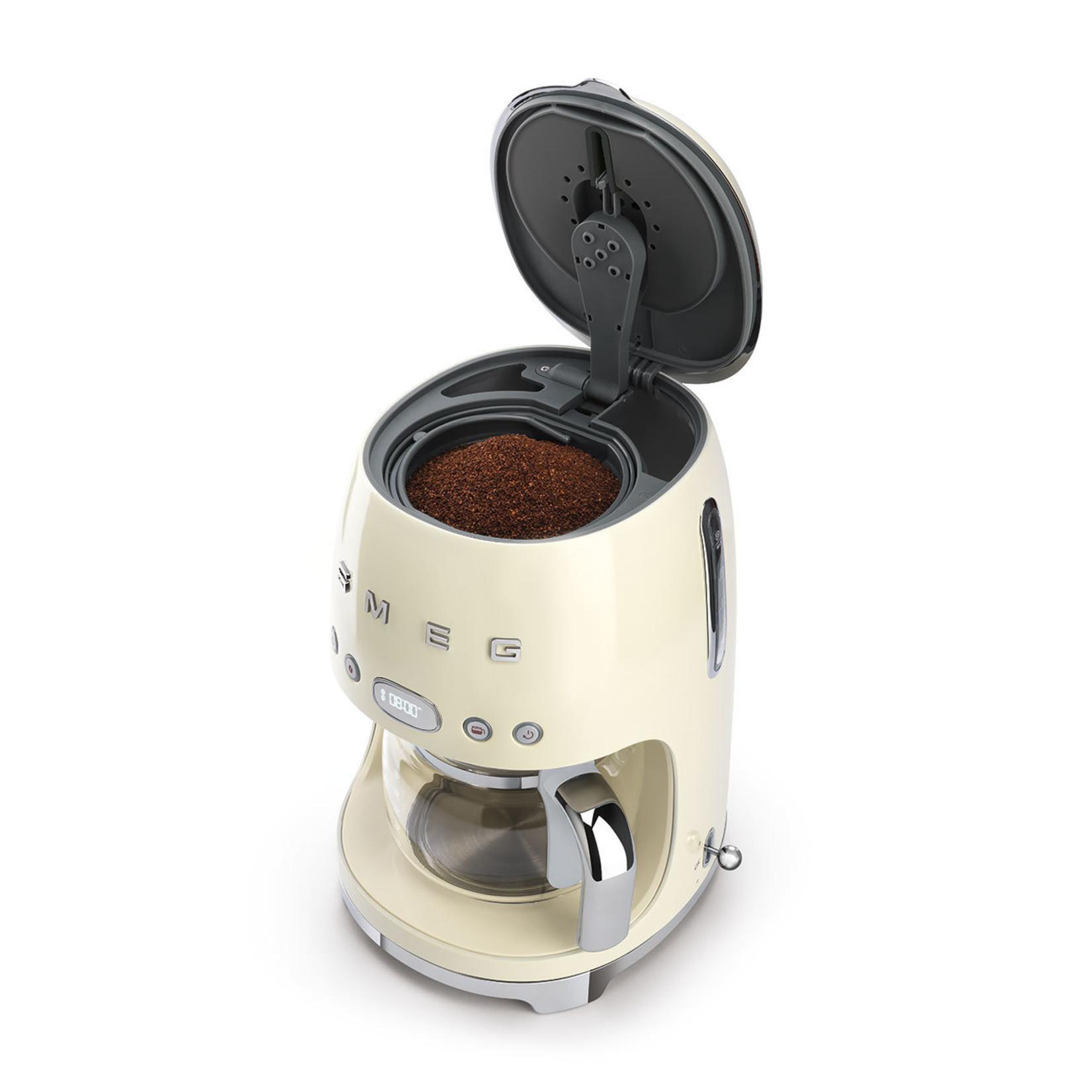 Smeg Smeg Koffiezetapparaat DCF02CREU, creme