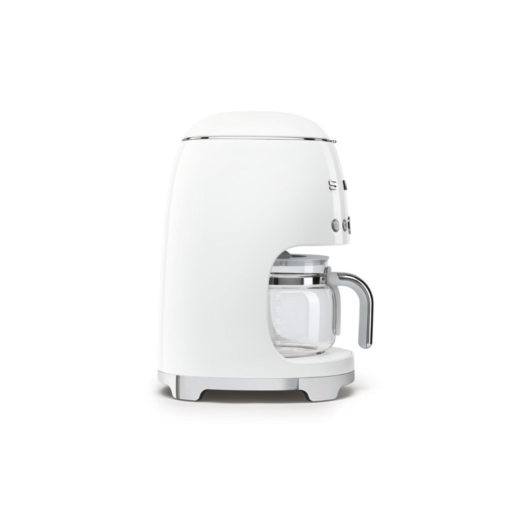 Smeg Smeg Koffiezetapparaat DCF02WHEU, wit