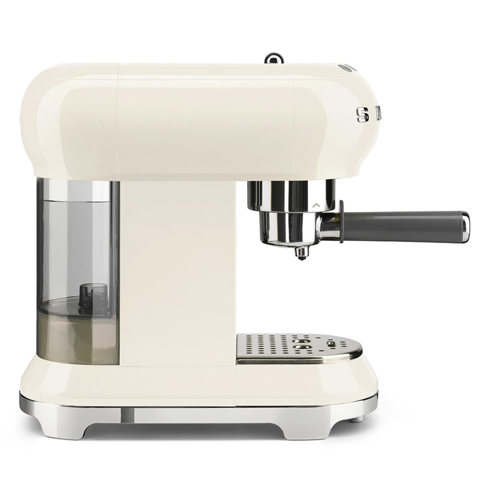 Smeg Smeg Espressomachine ECF01CREU, creme