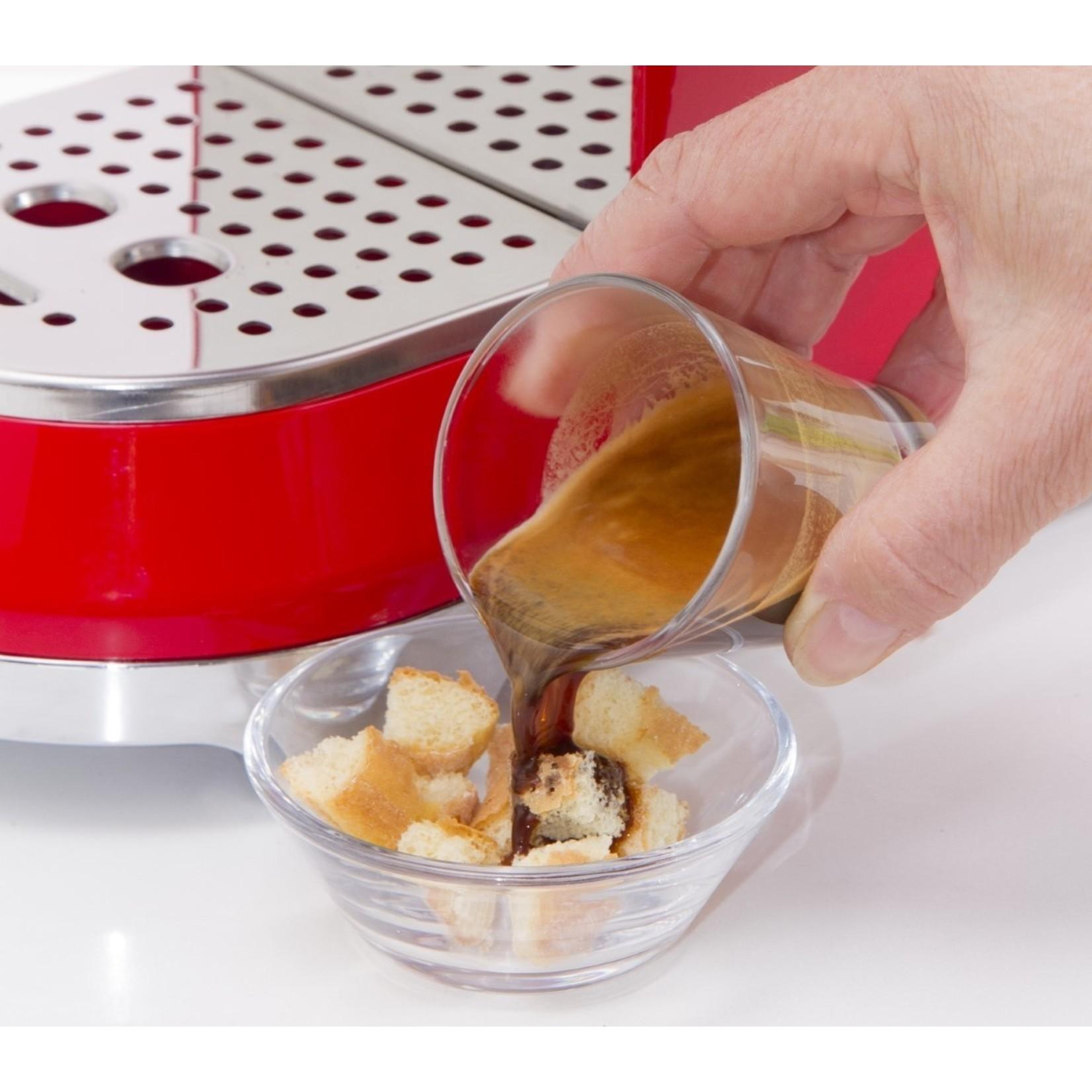 Smeg Smeg Espressomachine ECF01RDEU, rood