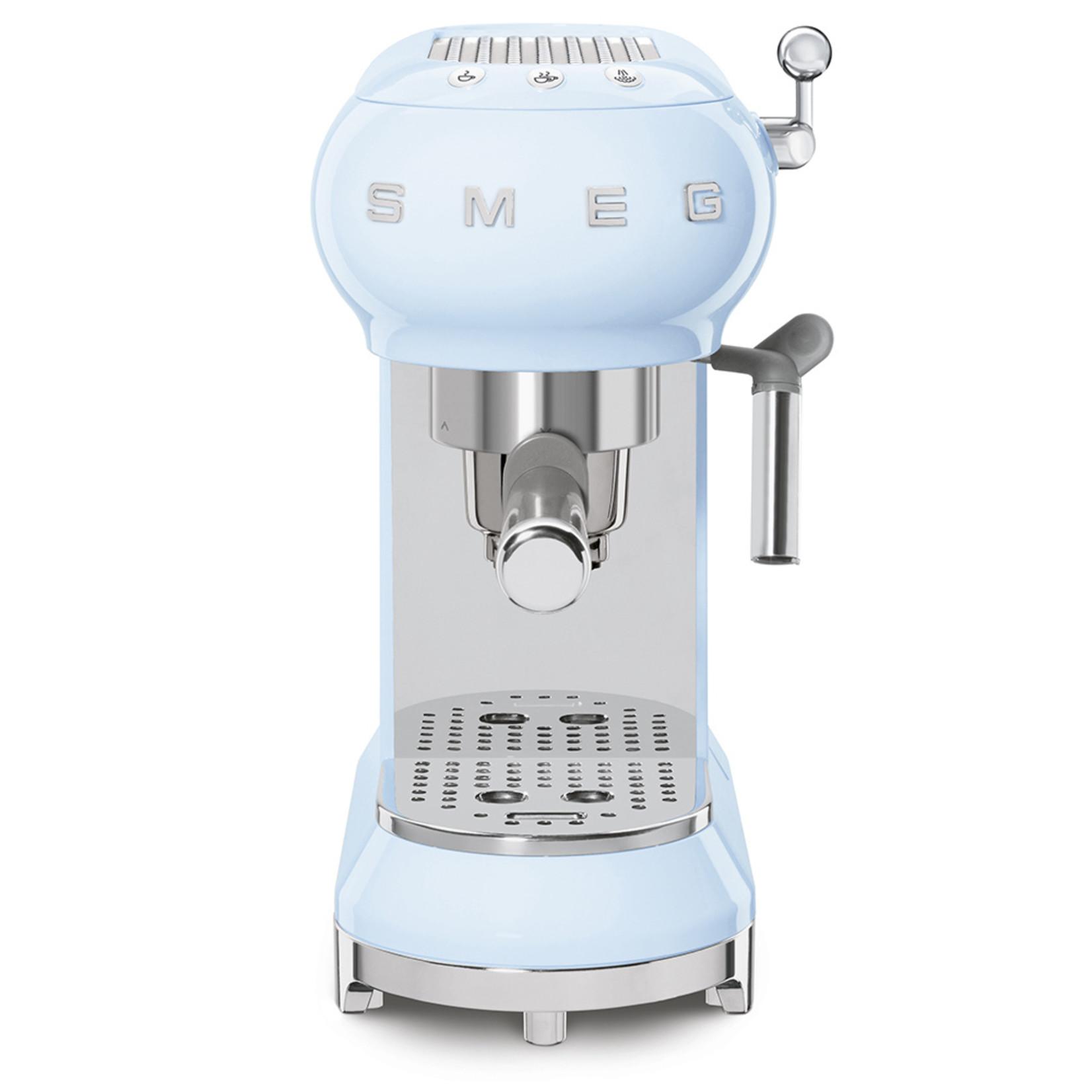 Smeg Smeg Espressomachine ECF01PBEU, pastelblauw