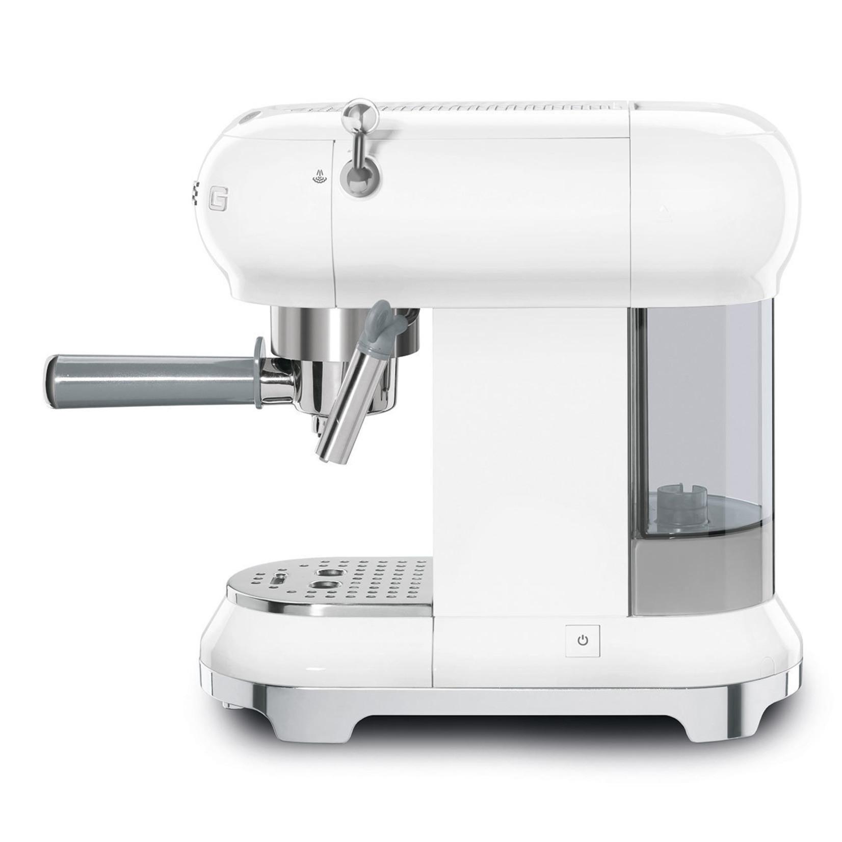 Smeg Smeg Espressomachine ECF01WHEU, wit