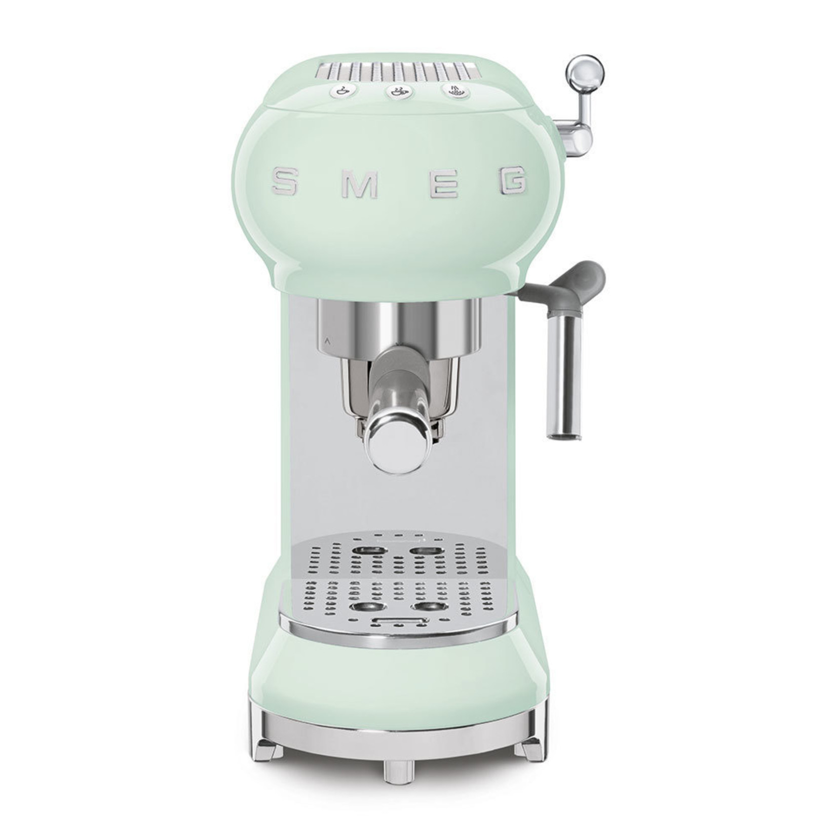 Smeg Smeg Espressomachine ECF01PGEU, watergroen