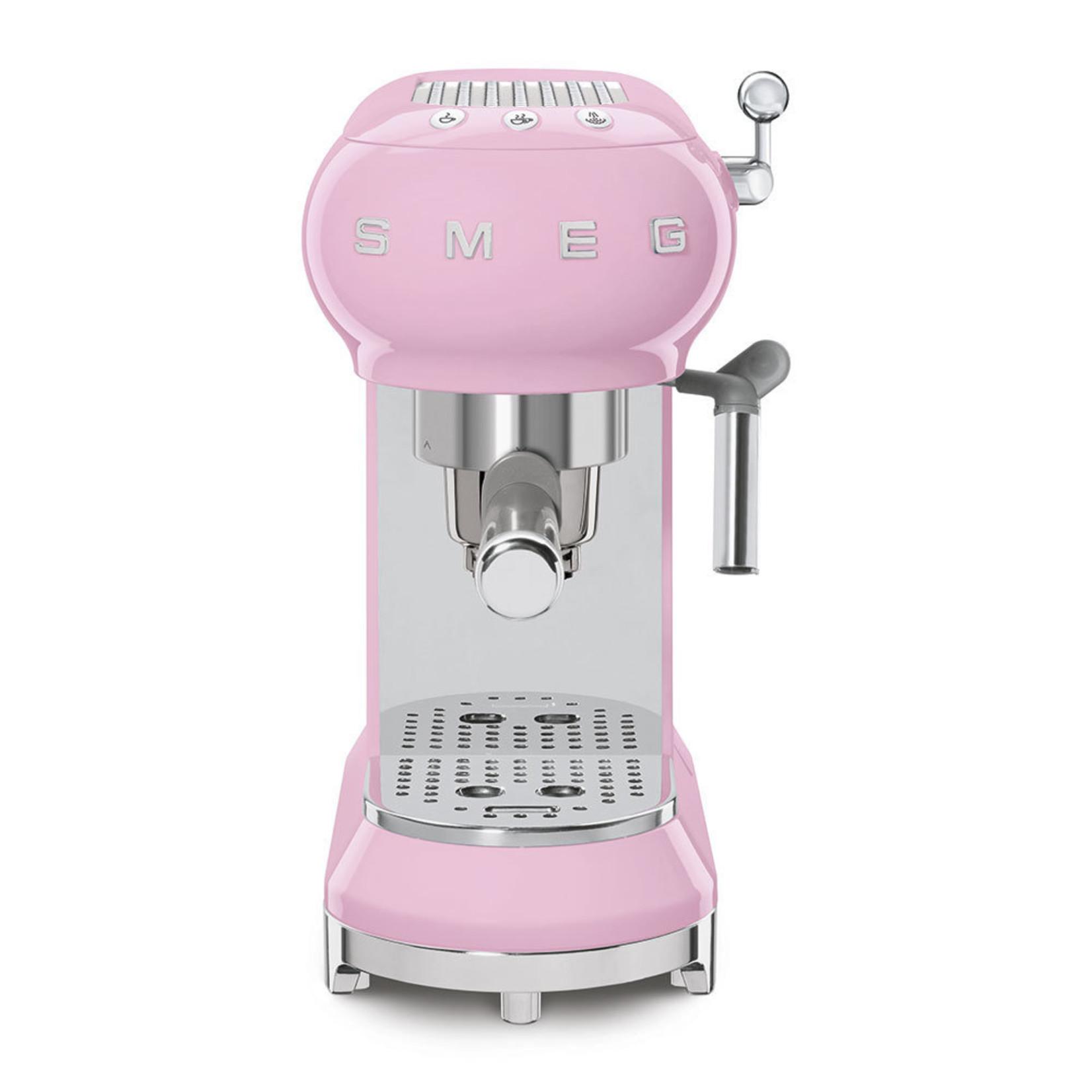 Smeg Smeg Espressomachine ECF01PKEU, roze