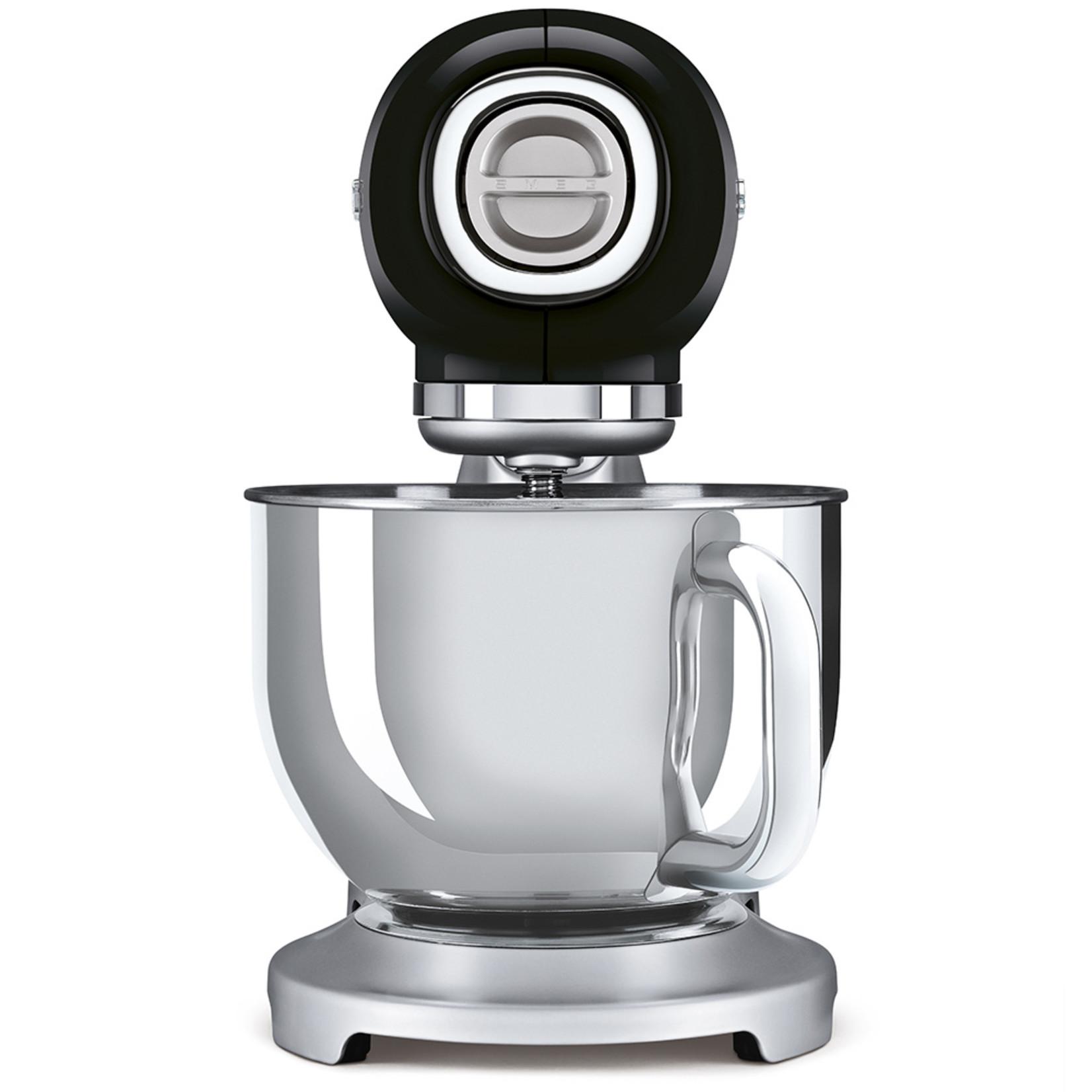 Smeg Smeg Keukenmachine SMF02BLEU, zwart