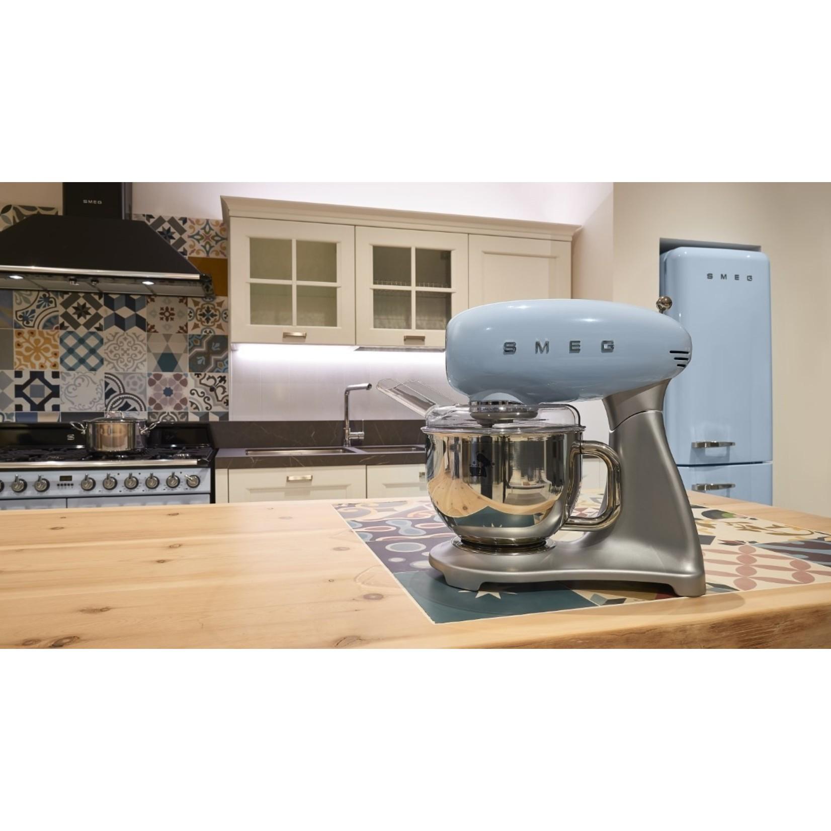 Smeg Smeg Keukenmachine SMF02PBEU, pastelblauw