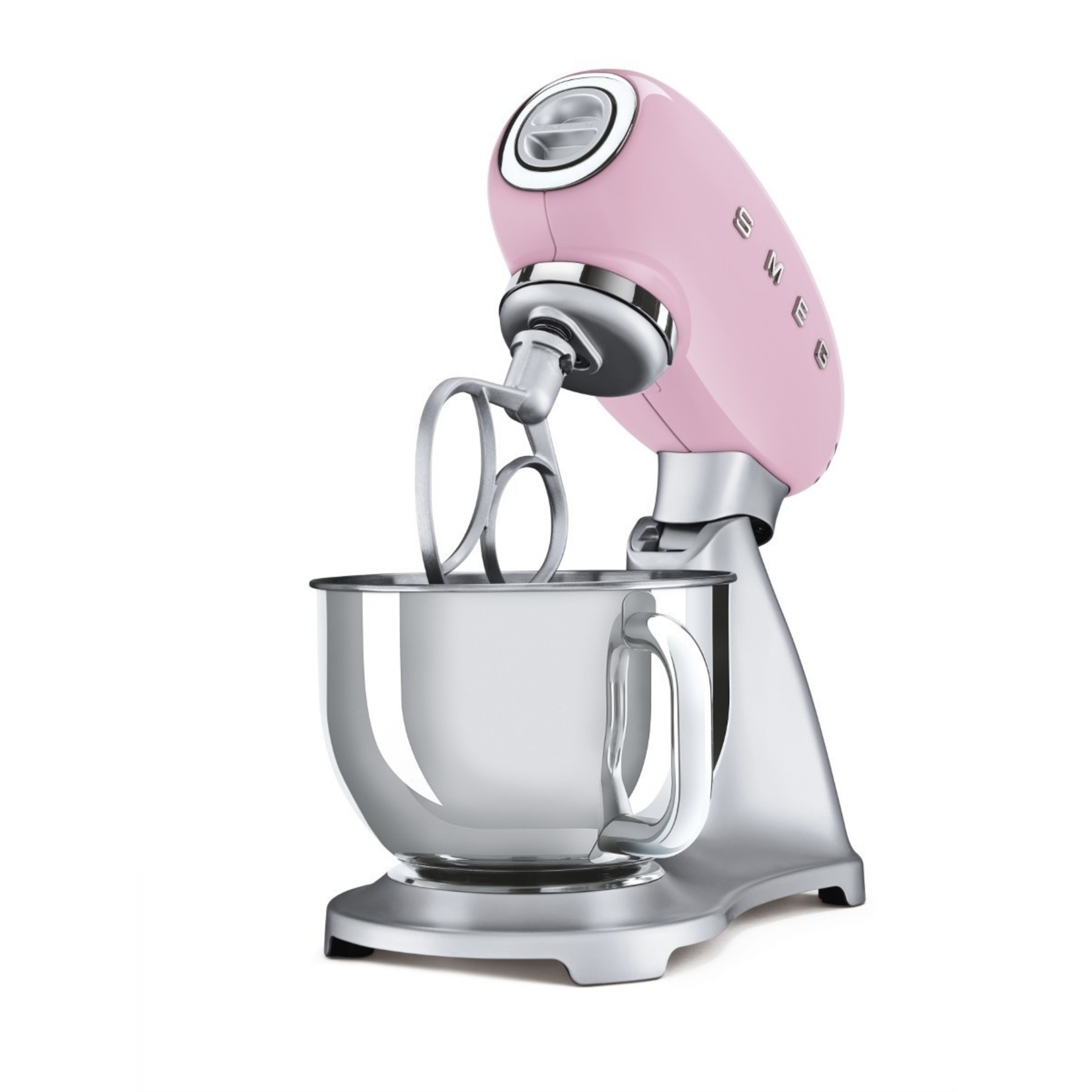 Smeg Smeg Keukenmachine SMF02PKEU, roze