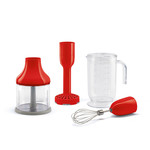 Smeg Smeg staafmixer accessoireset, rood