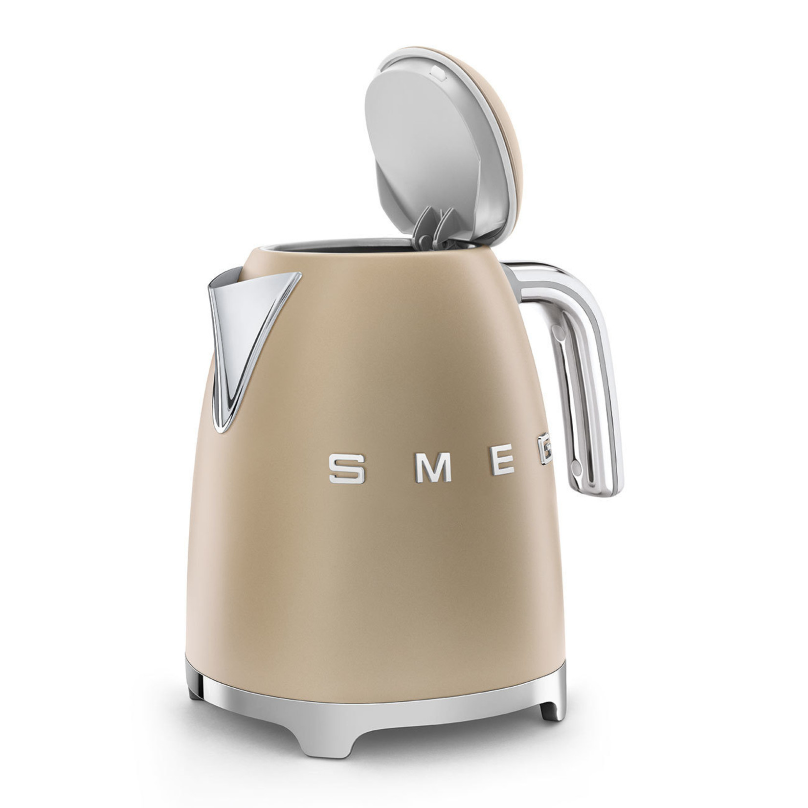 Smeg Smeg waterkoker KLF03CHMEU 1,7 liter champagne