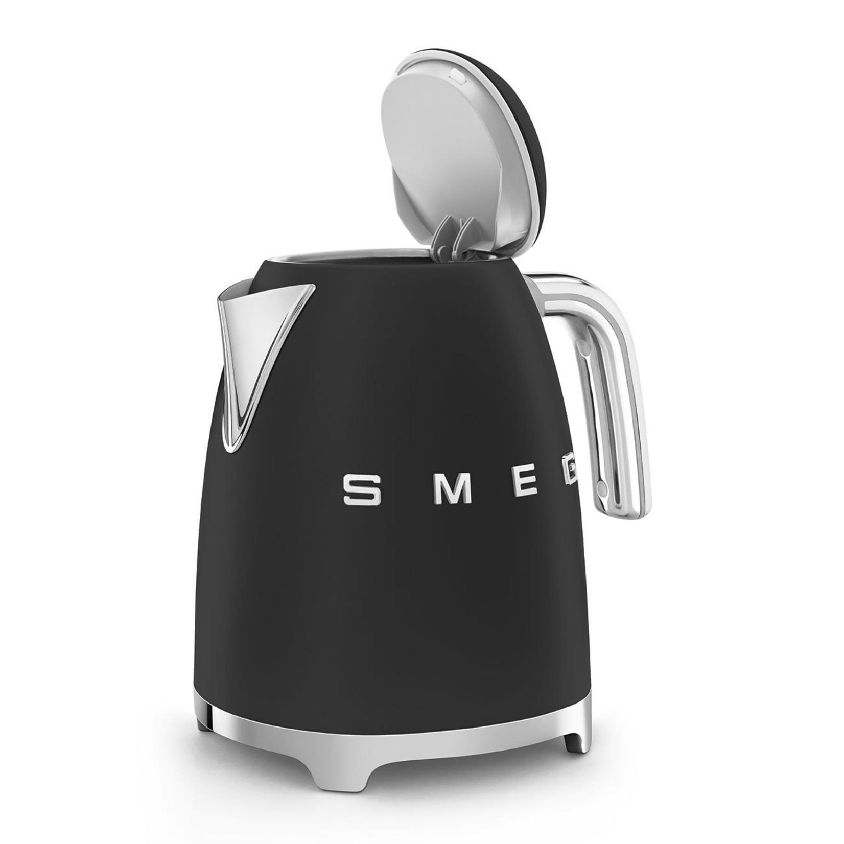 Smeg Smeg waterkoker KLF03BLMEU 1,7 liter mat zwart