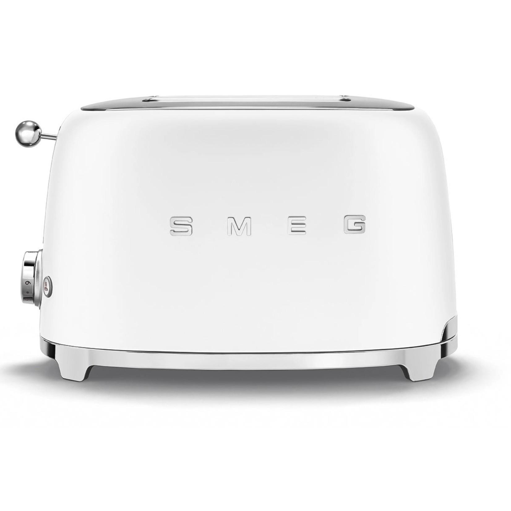 Smeg Smeg Broodrooster TSF01WHMEU 2x2 mat wit