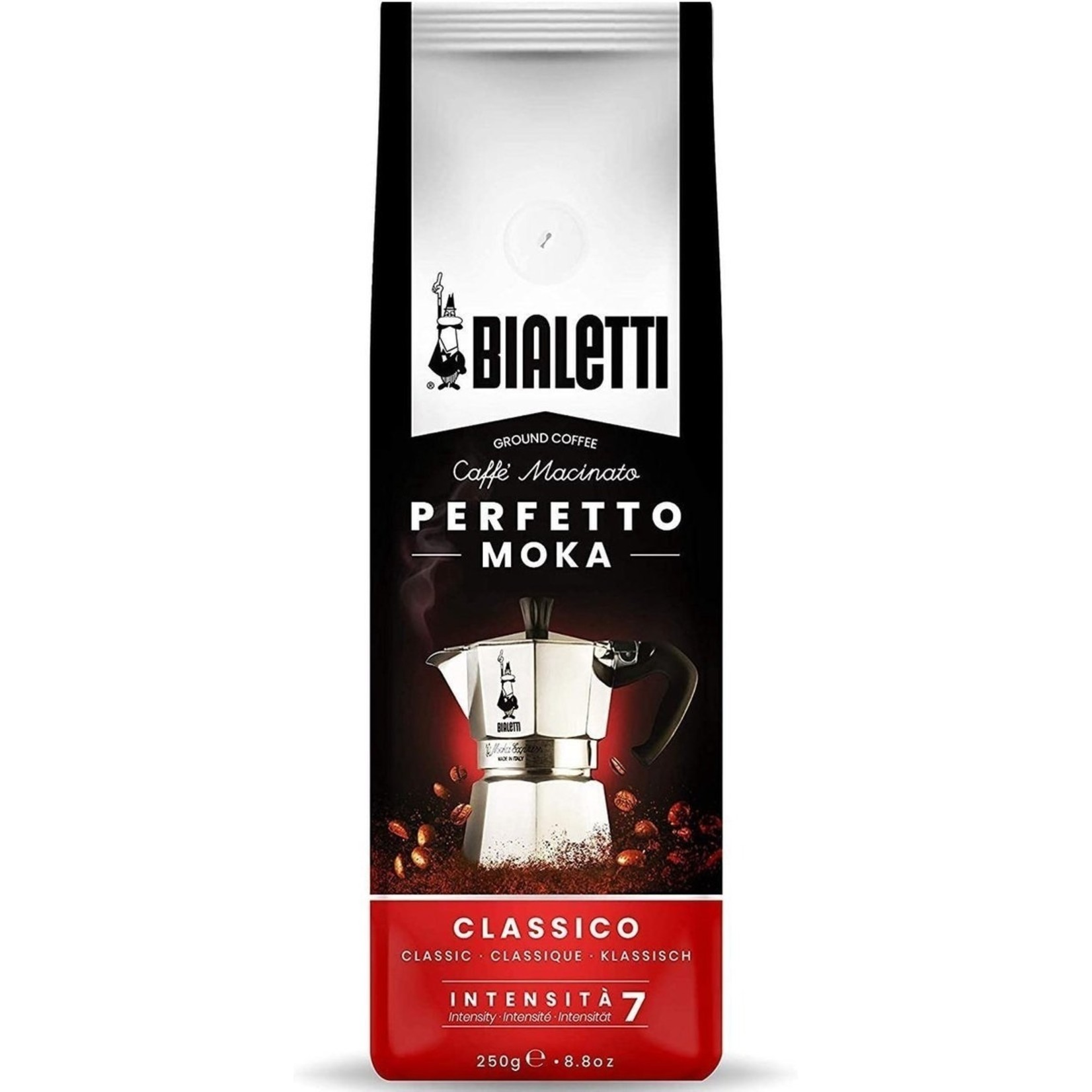 Bialetti Bialetti Perfetto Moka Classico, gemalen koffie, 250g