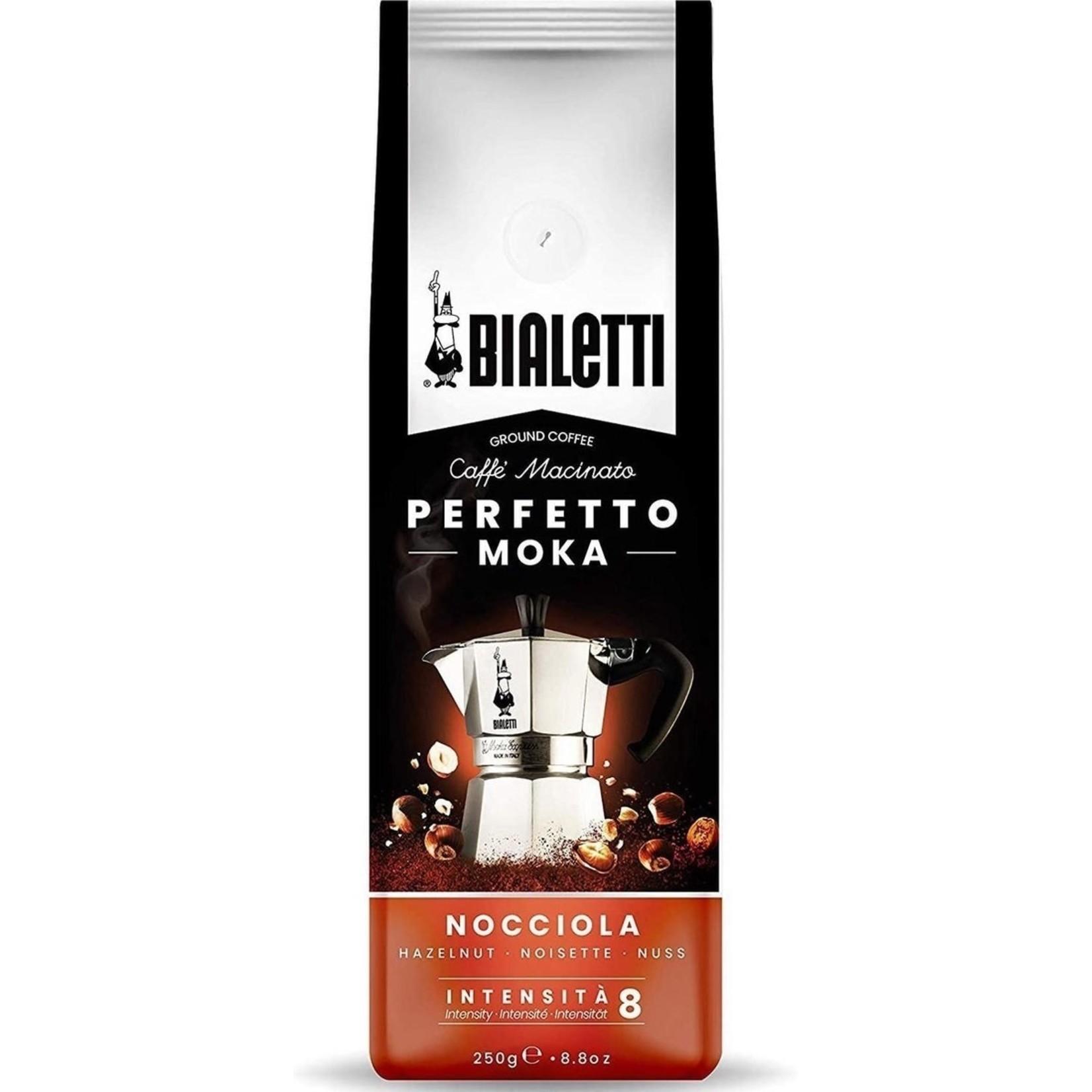 Bialetti Bialetti Perfetto Moka Hazelnoot, gemalen koffie, 250g