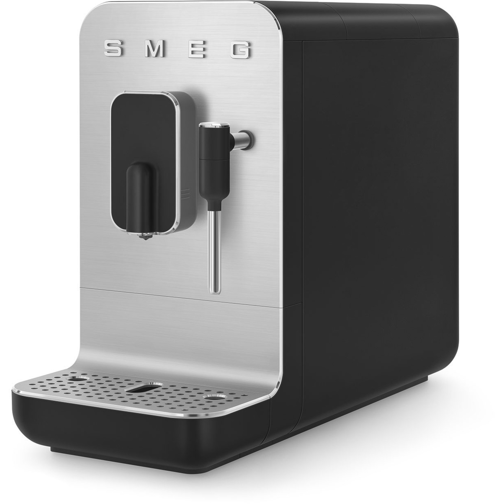 Smeg Smeg espressomachine medium, mat zwart, met stoomfunctie