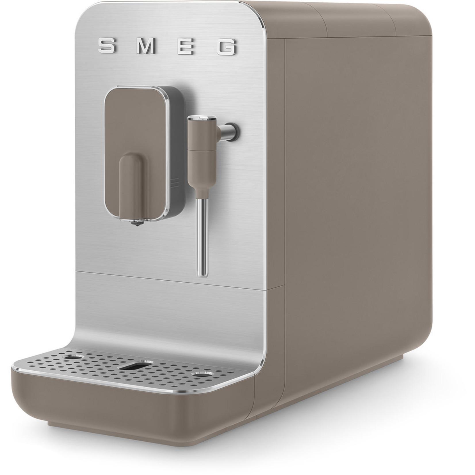 Smeg Smeg espressomachine medium, mat taupe, met stoomfunctie