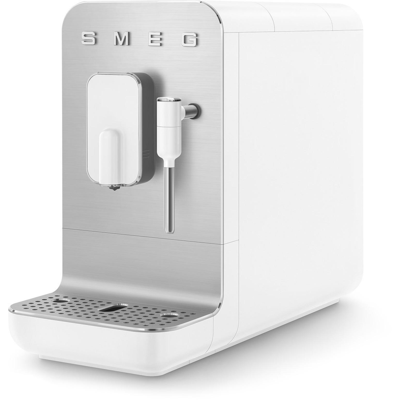Smeg Smeg espressomachine medium, mat wit, met stoomfunctie