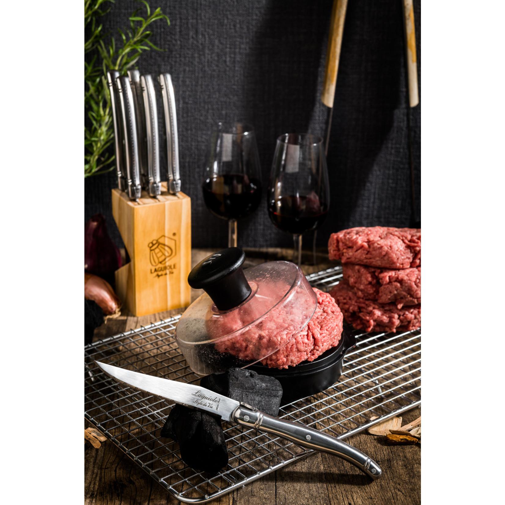 Laguiole Style de Vie Style de Vie Premium Line steakmessenset 6-delig RVS 1,8mm