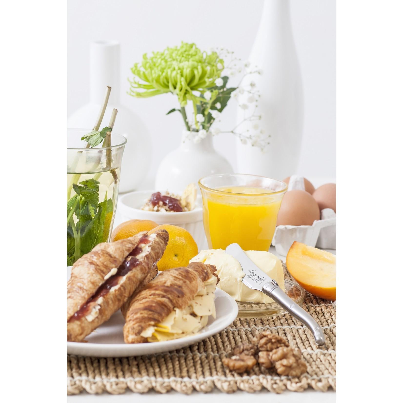 Laguiole Style de Vie Laguiole Style de Vie Premium Line botermessenset 4-delig rvs