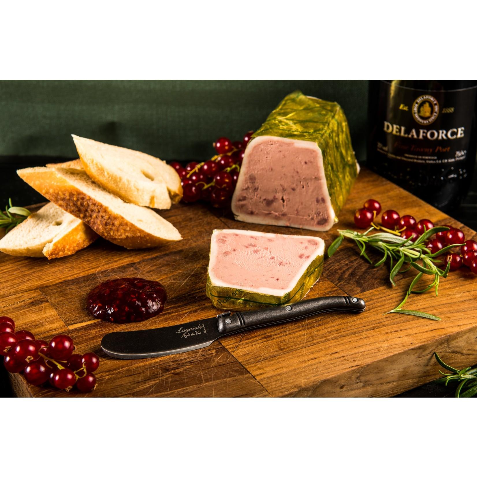 Laguiole Style de Vie Laguiole Style de vie Premium line botermessen 4-delig stonewash
