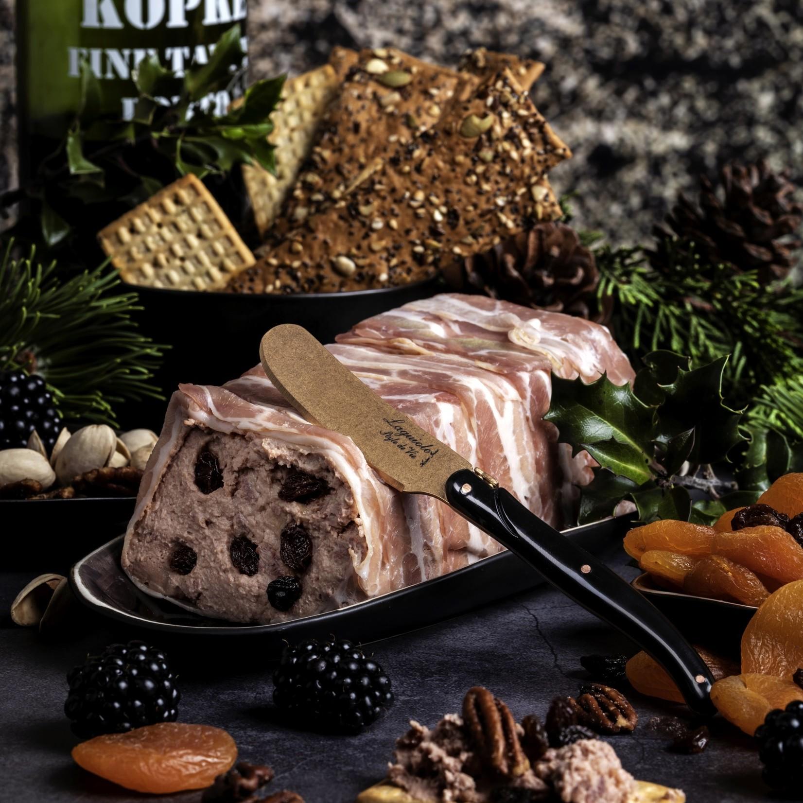 Laguiole Style de Vie Laguiole Style de Vie Prestige Line botermessenset4-delig koper