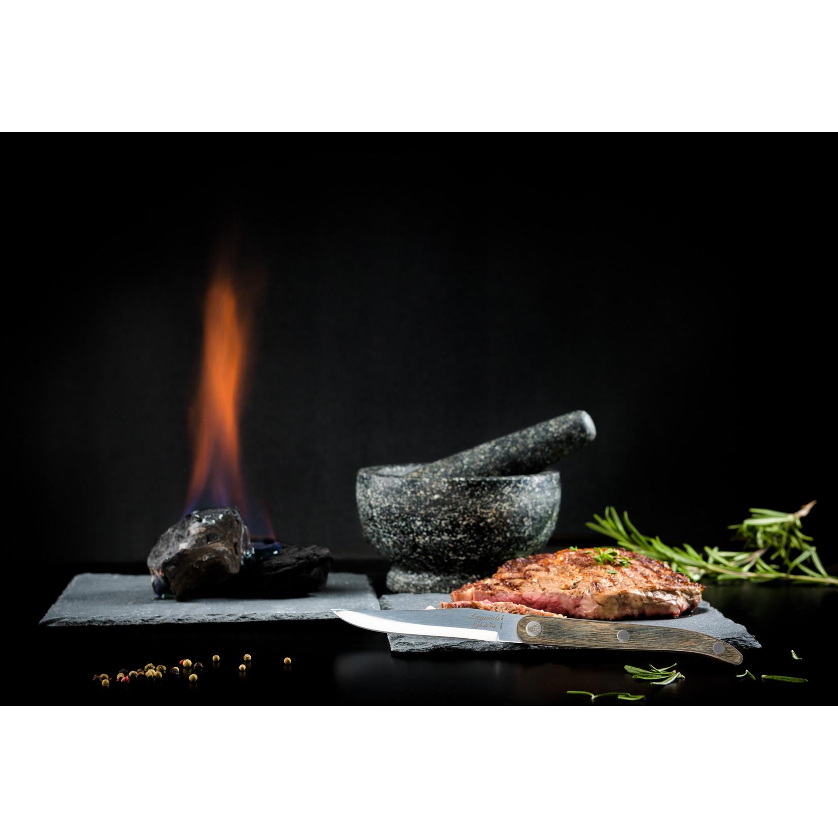 Laguiole Style de Vie Laguiole Style de Vie Innovation Line steakmessenset 6-delig glad pakkahout