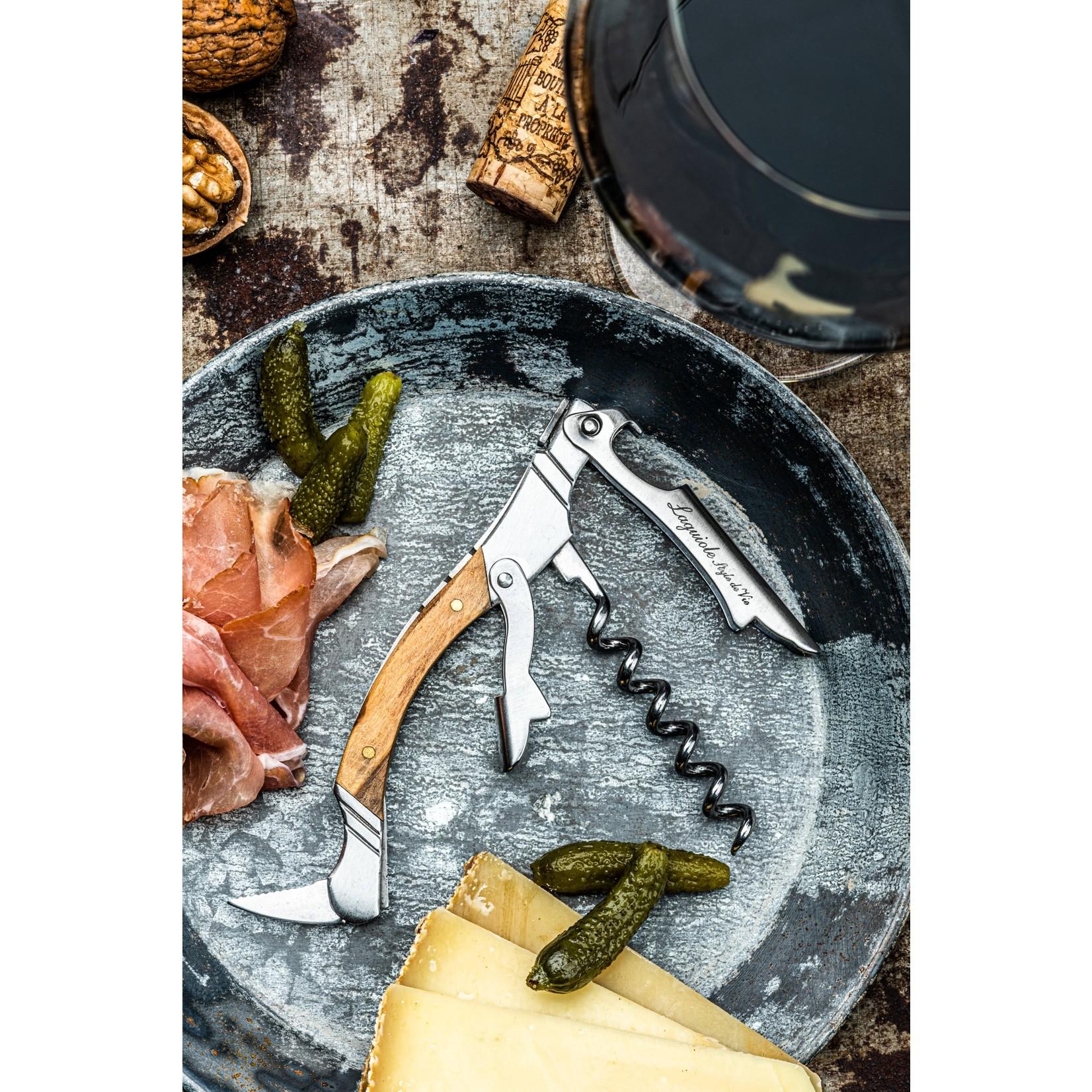 Laguiole Style de Vie Laguiole Style de Vie kurkentrekker olijfhout
