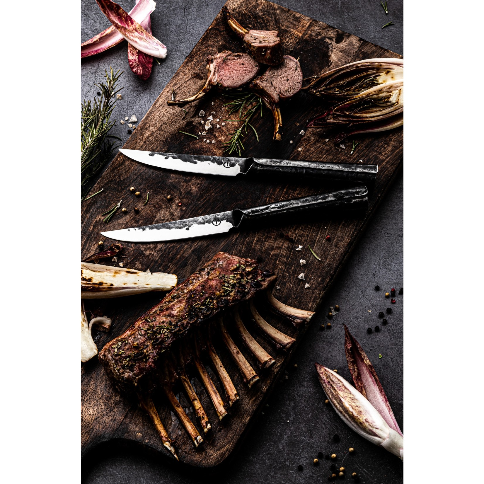 Forged Forged Brute steakmessenset 4-delig