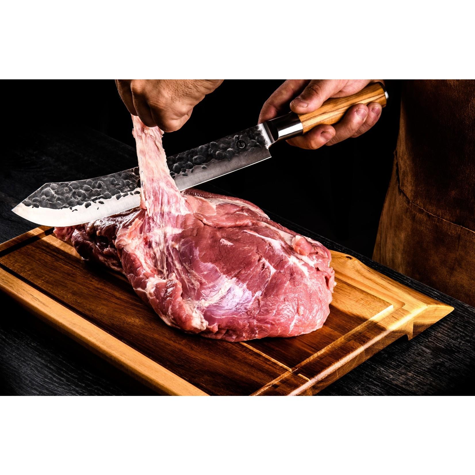 Forged Forged Olive slagersmes 25,5cm