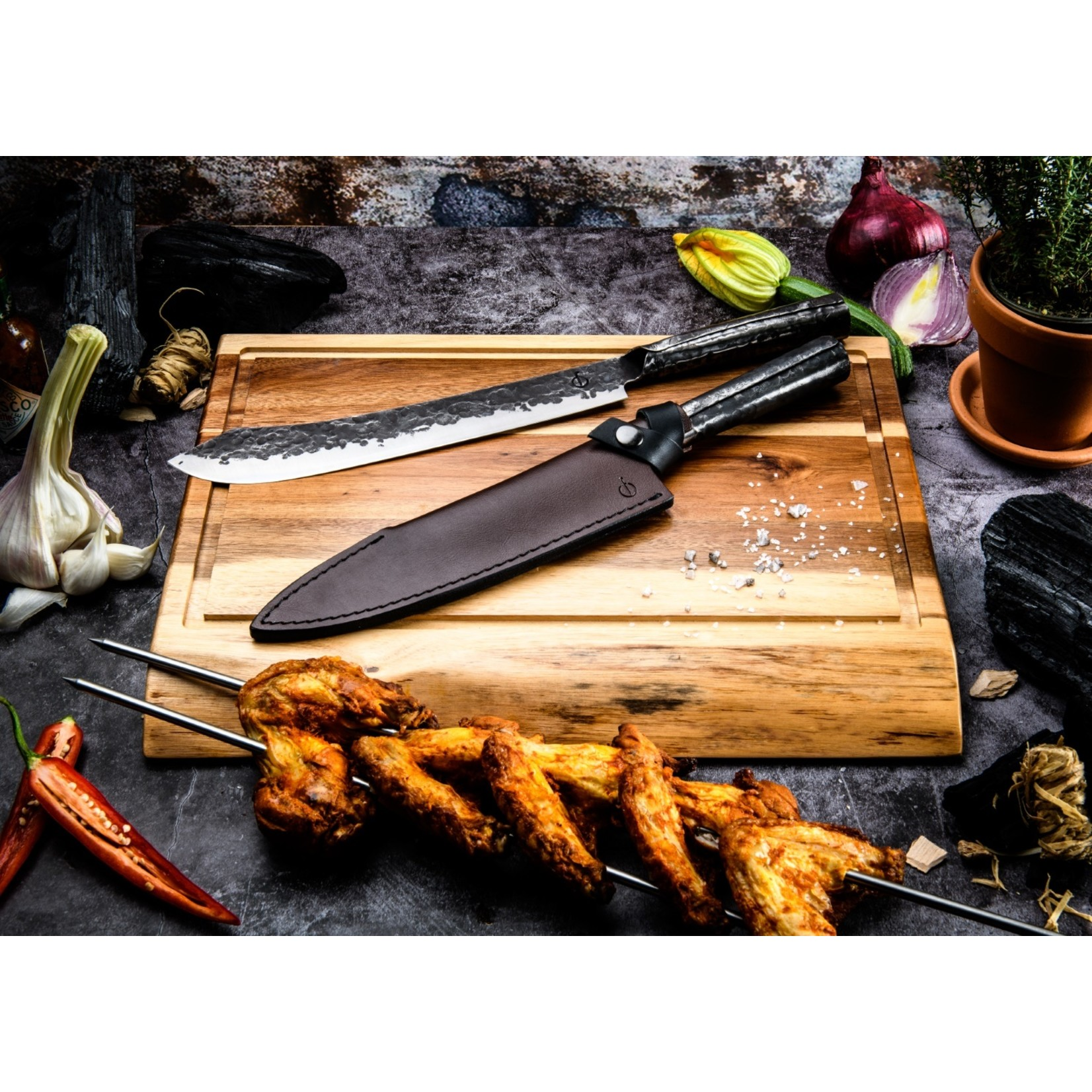 Forged Forged Churrasco spies 50cm
