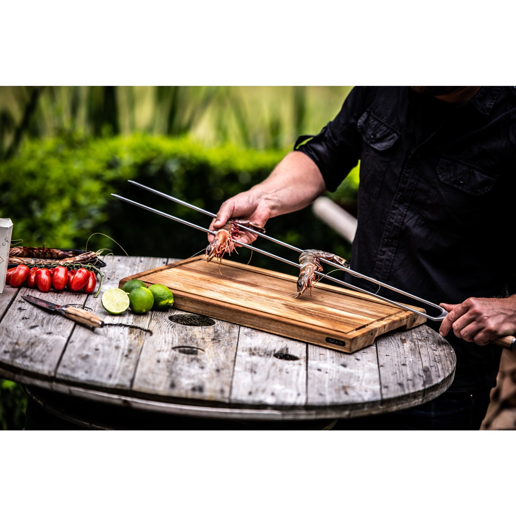 Forged Forged Churrasco spies 60cm