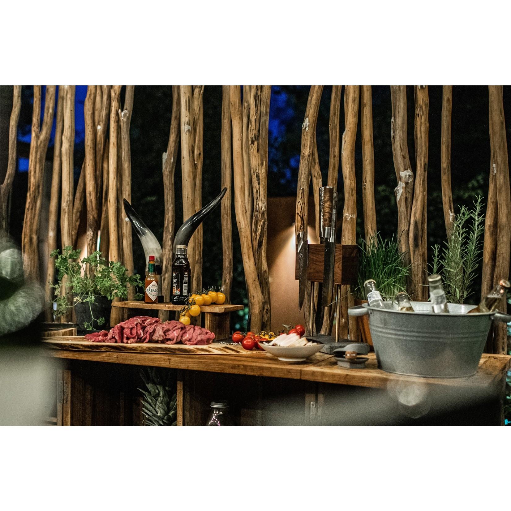Style de Vie Style de Vie messenblok magnetisch walnotenhout