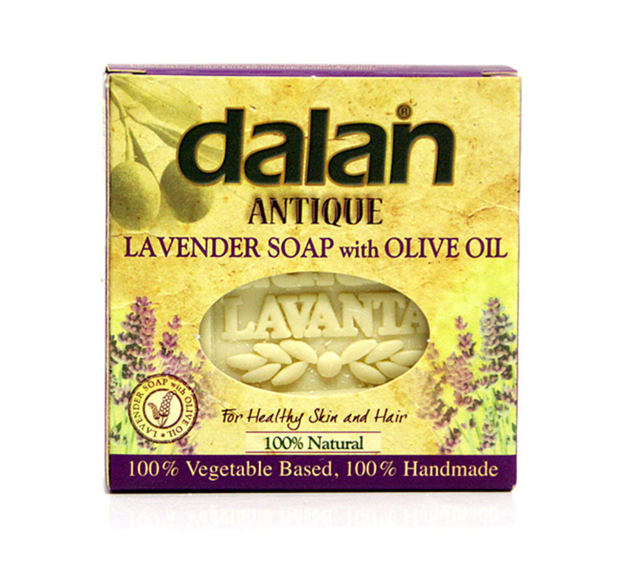 Lavender soap with olive oil 100% Natural and Handmade