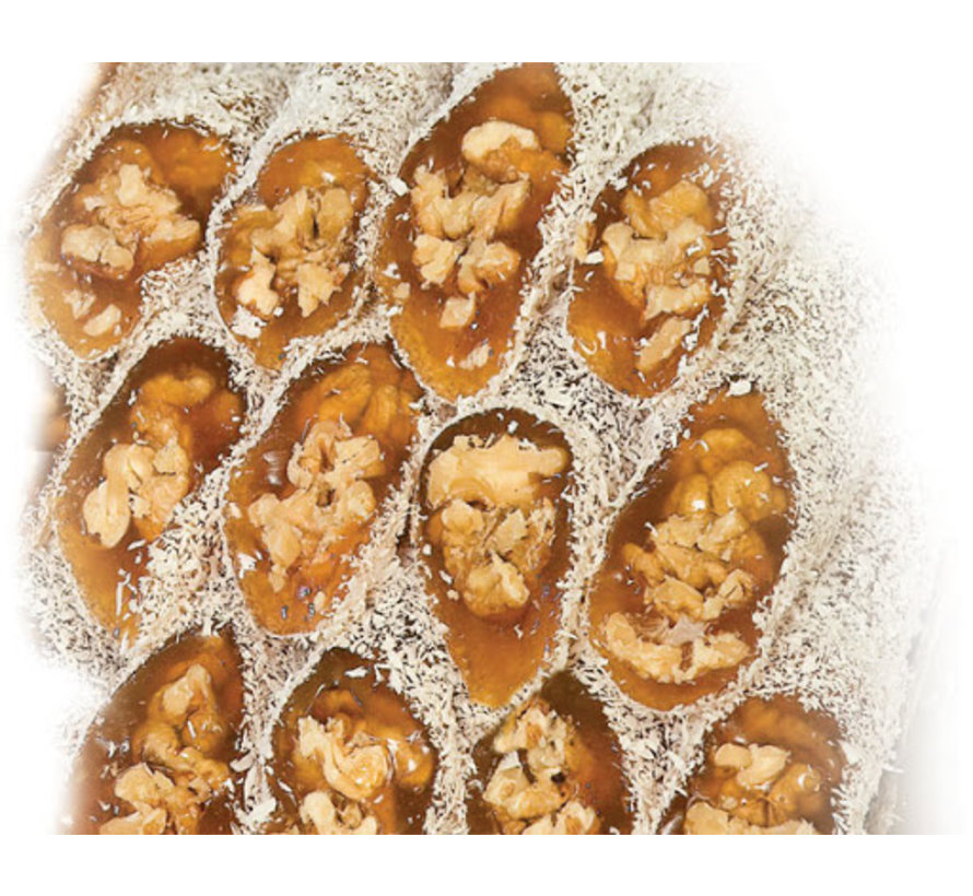 Turks Fruit met Walnoten 500gr