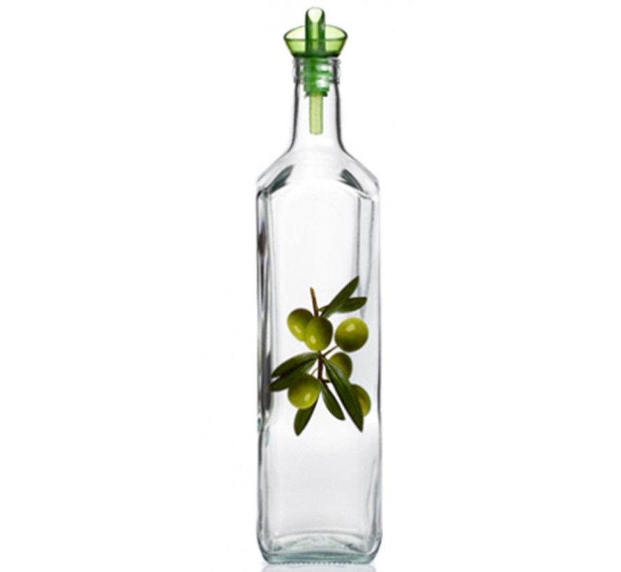 Olijfolie glazen fles 500ml