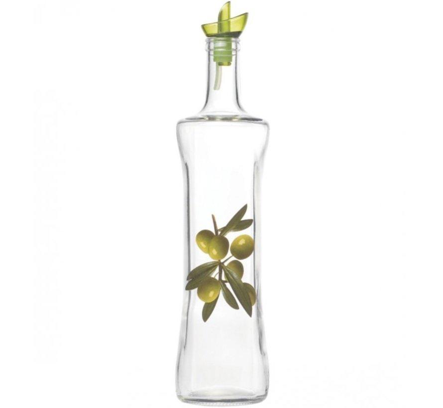 Olijfolie glazen fles 750ml