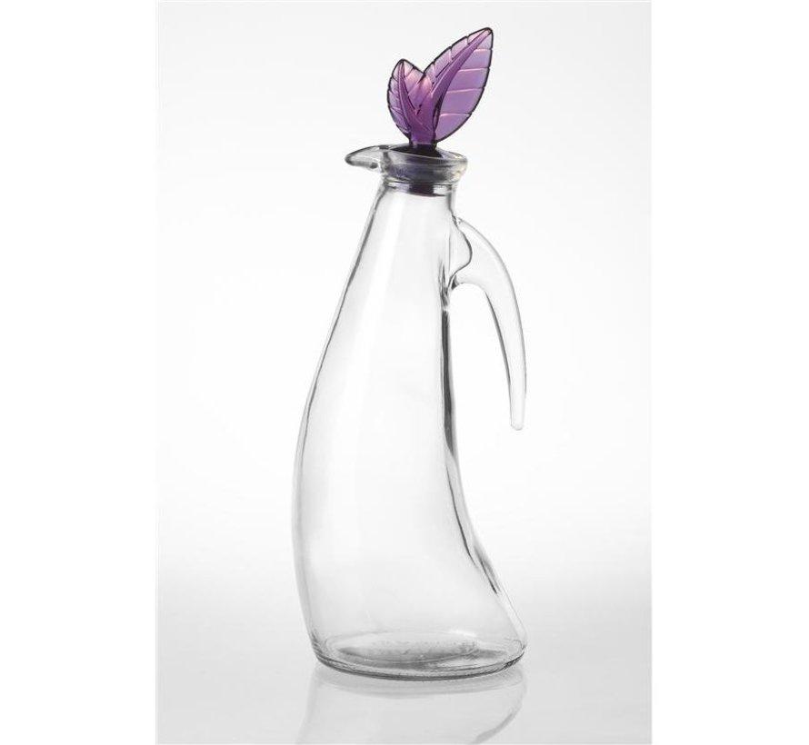 Olive oil glass carafe 1ltr