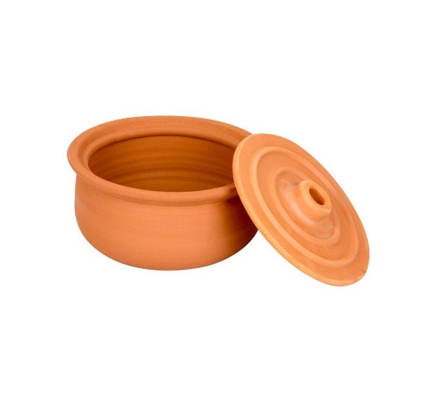 Handgemaakte Klein Aardewerk Pot 25cm