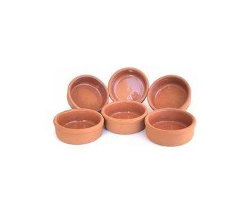 Earthenware baking dishes 6 pcs
