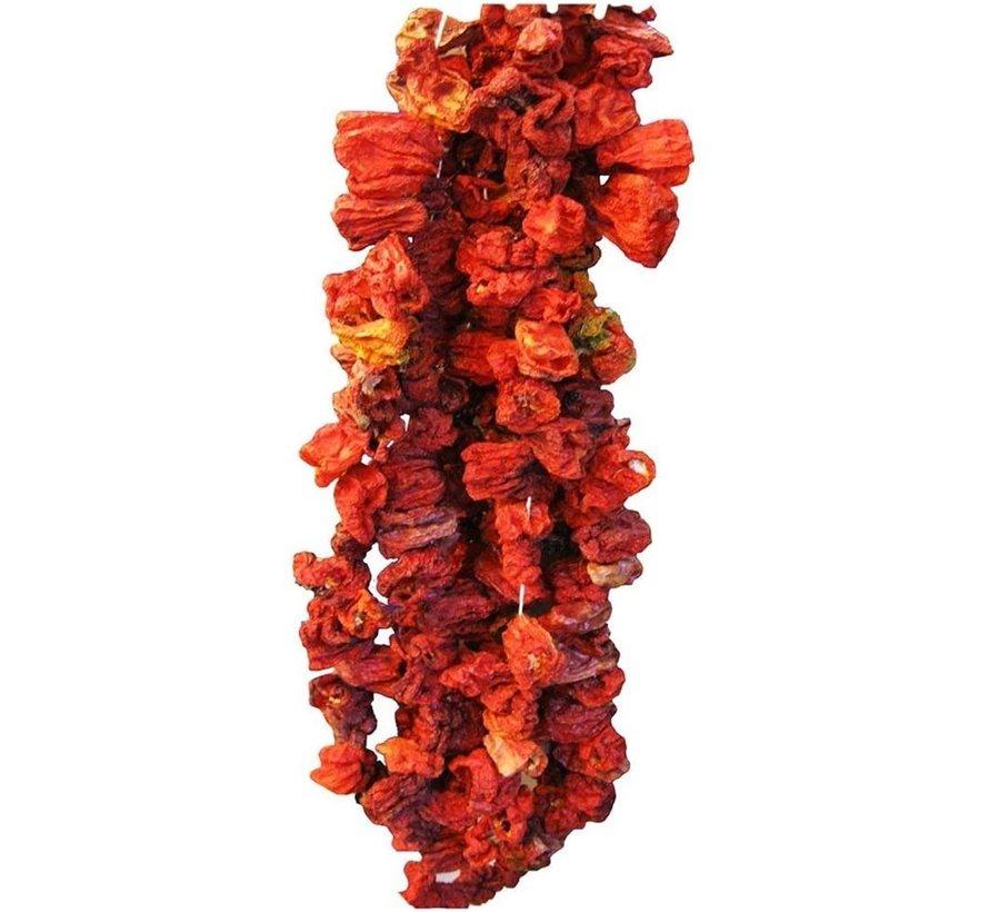 Dried Hot Paprika  (ca 45 stuks)