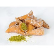 Turkish Delight Molasses filled with Pistachio nuts