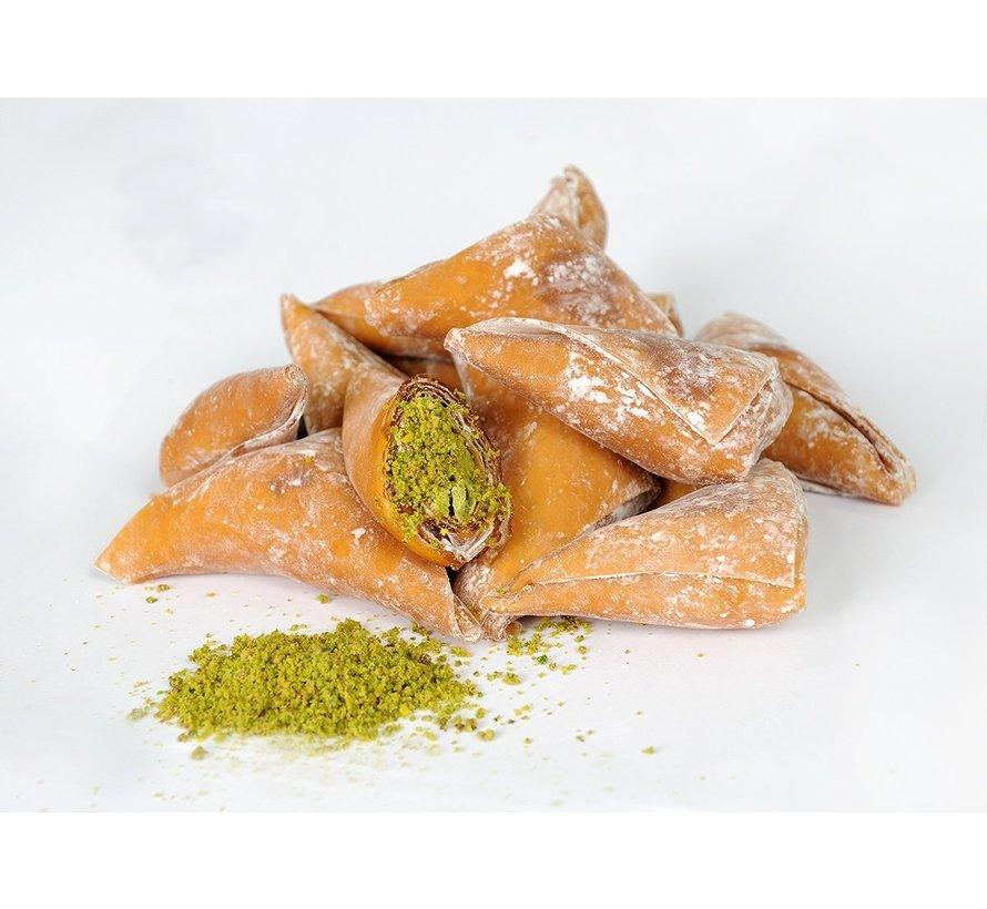 Turks Fruit Melasse gevuld met Pistache noten 400gr