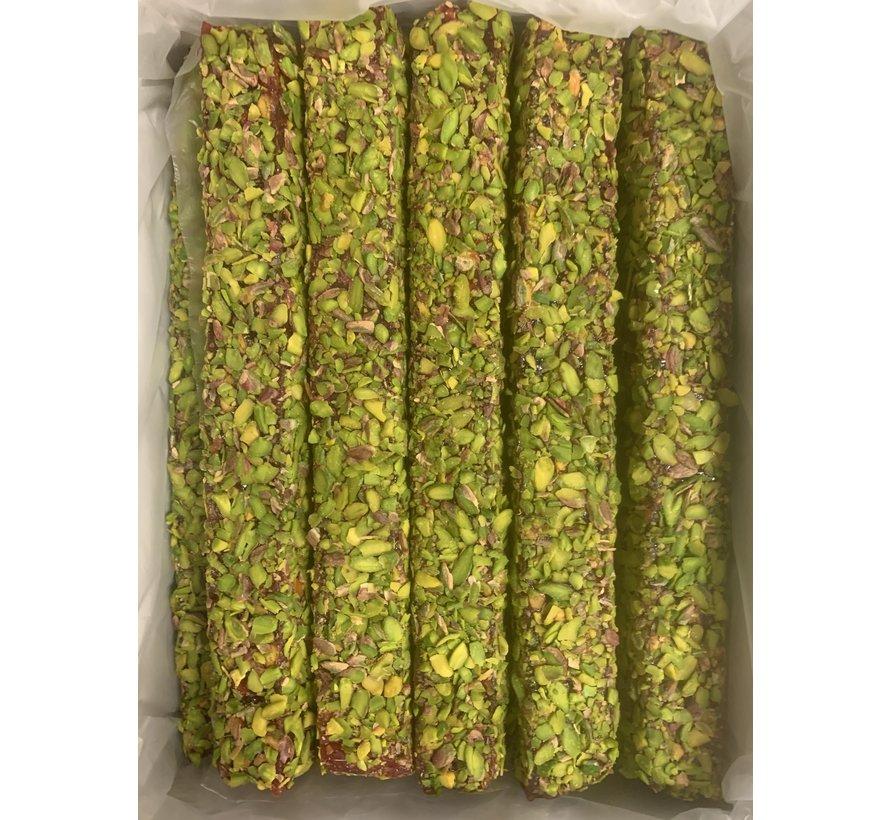 Turks Fruit Granaatappel en Pistache. 500gr
